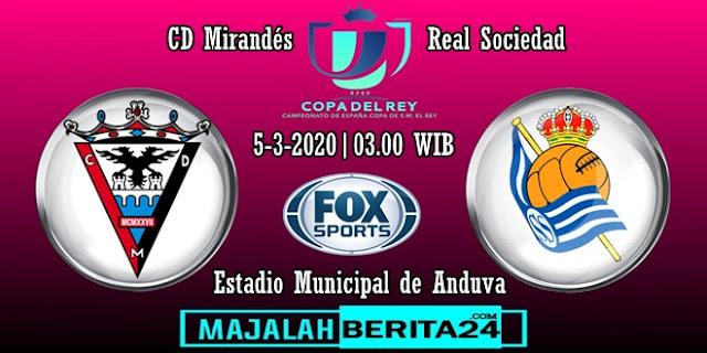 Prediksi Mirandes vs Real Sociedad