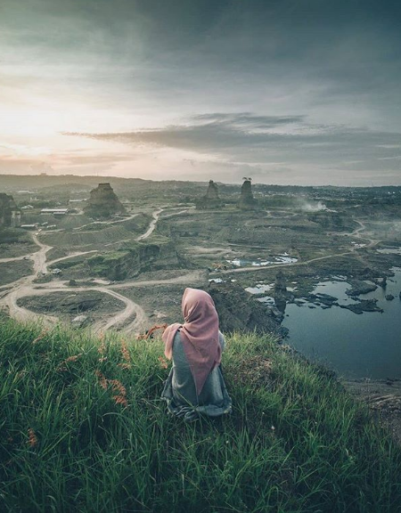 Spot Foto Instagrammable Brown Canyon Semarang