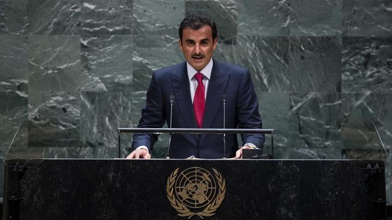 Qatar's emir reiterates call for stability in the Gulf