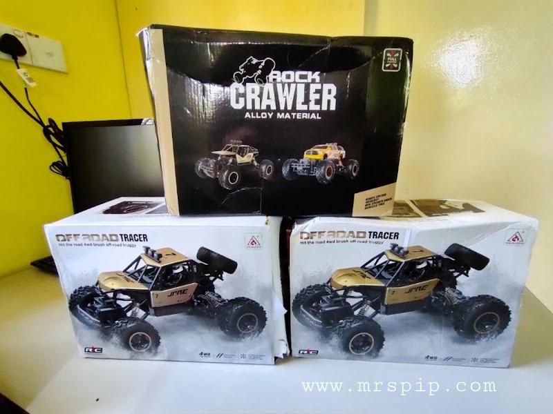 Review Toys Off Road Rock Crawler Car (with remote control) ; sesuai untuk anak lelaki