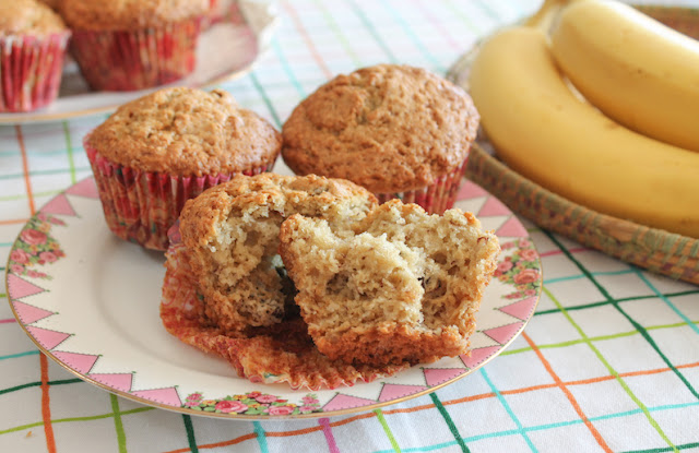 Food Lust People Love: An adult-only snack with a taste of the Caribbean, these rum raisin banana muffins are a tasty celebration of summer, sun and a beach holiday down the islands. Make these adult-only muffins child-friendly by replacing the rum with apple or your favorite natural juice.