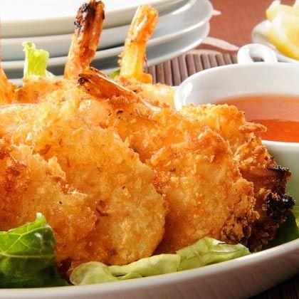 Coconut Shrimp with Mustard Sauce Recipe