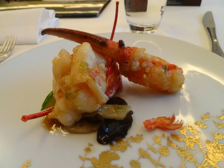 2 ème plat restaurant chinois Family Li Impérial Cuisine Paris 8 ème.