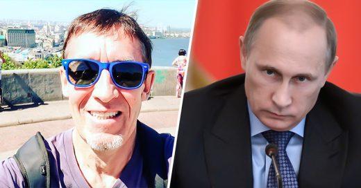 Periodista crítico de Putin es hallado muerto con un balazo