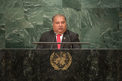 Presiden Nauru, Baron Divavesi Waqa (Foto: UN Photo/Cia Pak)