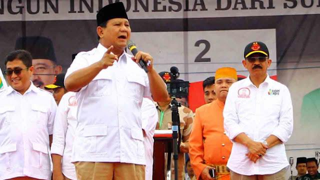 Ustaz Somad Tolak Cawapres, Bagaimana Kans Prabowo-Salim Segaf