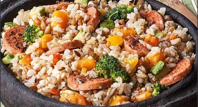 Receita de arroz carreteiro especial