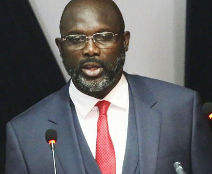 Liberian President, George Weah suspends press minister, Eugene Fahngon for fueling ethnic tensions