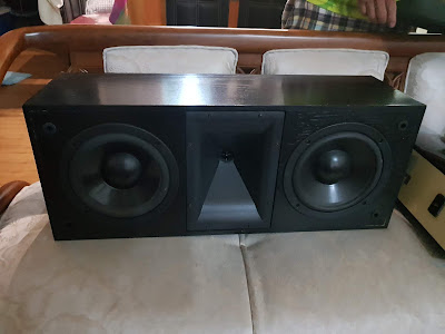 Klipsch KLF-C7 Horn Center (Used) 20190128_170144