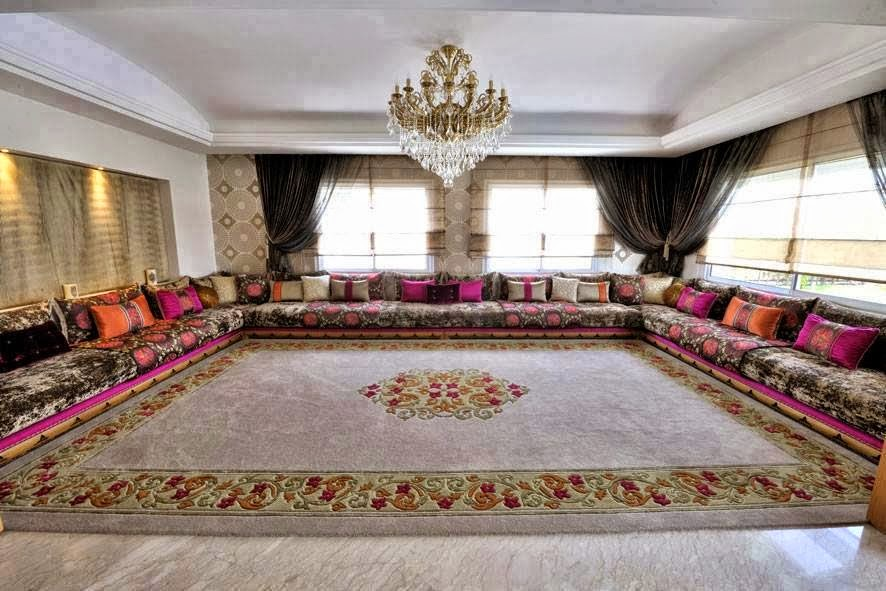 Salon Marocain Traditionnel Et Moderne