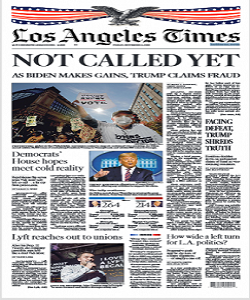 Los Angeles Times Magazine 6 November 2020 | Los Angeles News | Free PDF Download
