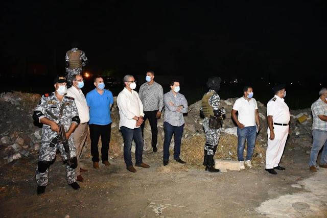 """""""الفيوم"""" : غلق وإزالة 13 منشأة للمخالفة وعدم الالتزام بالإجراءات الاحترازية"""