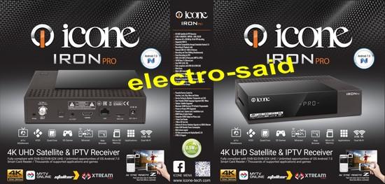 تعرف على مواصفات الجهاز الجديد IRON Pro لشركة ICONE
