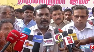 Jallikattu: Thirumavalavan condemns cops attack on youth at Avaniyapuram in Madurai