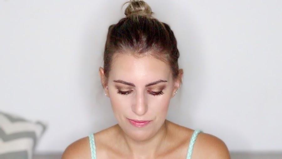 maquillaje en tonos marrón y cobrizos