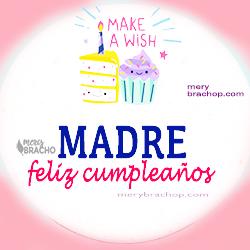 tarjeta de cumpleaños mensaje cristiano para madre