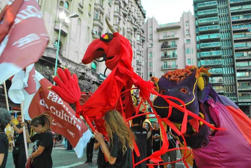 Carnaval del Uruguay. 2015.