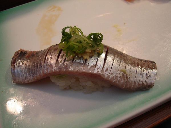 ซูชิปลาซาร์ดีน, ปลาอิวาชิ (Iwashi)