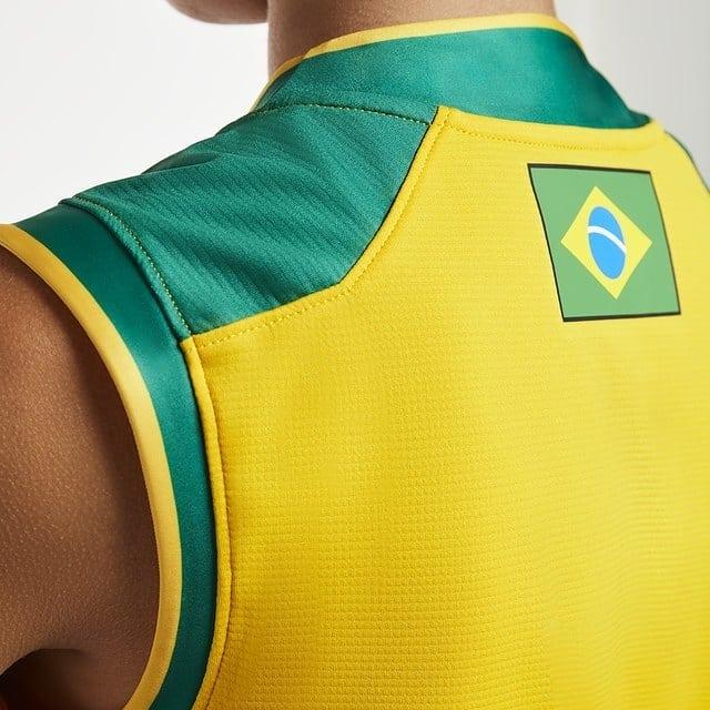 Asics Lanca Nova Camisa Da Selecao Brasileira De Volei Show De Camisas