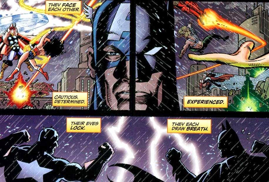 captain america vs batman challenging preconceptions