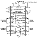 MAX242 Multichannel RS-232 Drivers/Receivers Pin Configurations and Datasheet