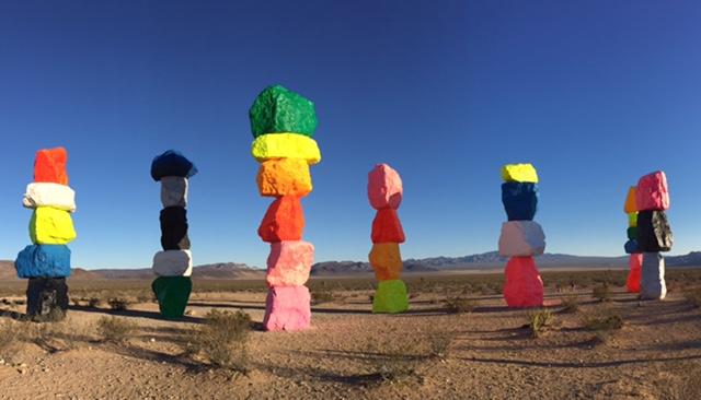 Seven Magic Mountains, Las Vegas, NV