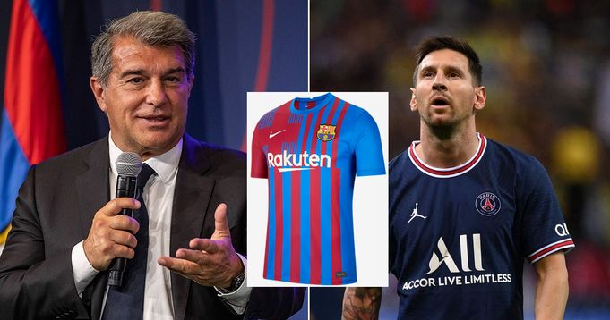 Laporta reveals Barca Player with the most shirt sell after Messi is gone