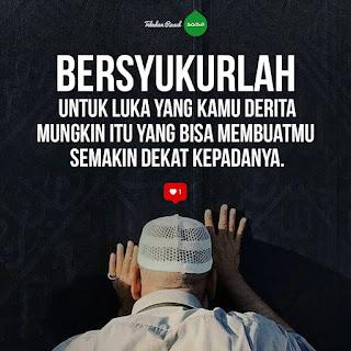 nasehat islami agar selalu bersyukur supaya tenang hati
