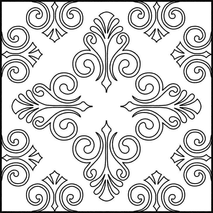 "Gambar Batik Termudah ""Sketsa Batik"" - Gambar Batik"