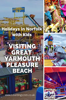 Holidays in Norfolk with kids: Visiting great Yarmouth Pleasure Beach