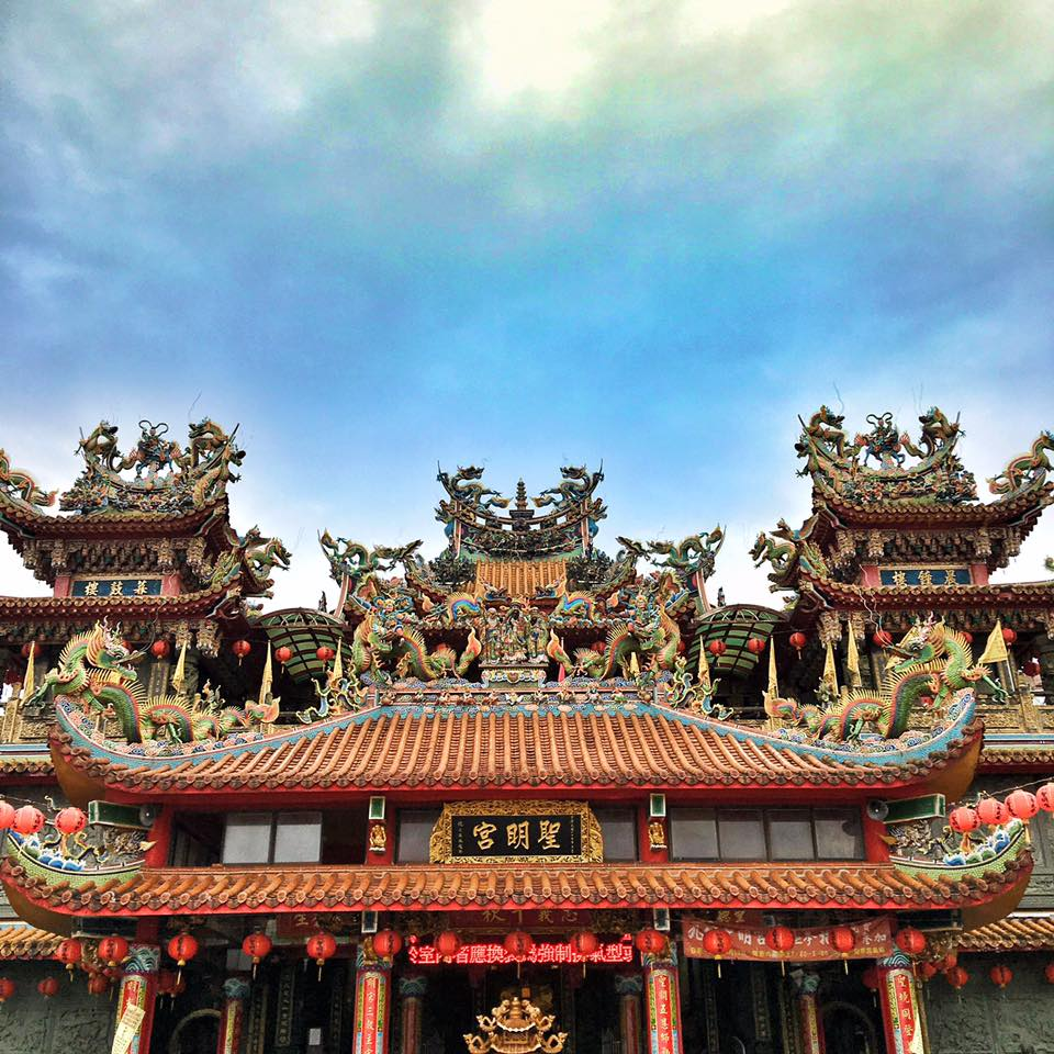 Travel with Crystal- 4 days in Taiwan- Beautiful temple in Jiufen