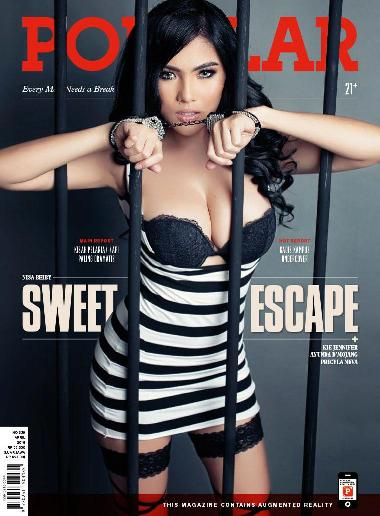 "Majalah POPULAR Indonesia No.339 April 2016 Nisa Beiby, Ayunda D'Mojang, Priscyla Neva, Kie Jennifer. Every Man Needs a Break ""Sweet Escape"" 