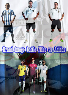Brand image battle Nike vs Adidas