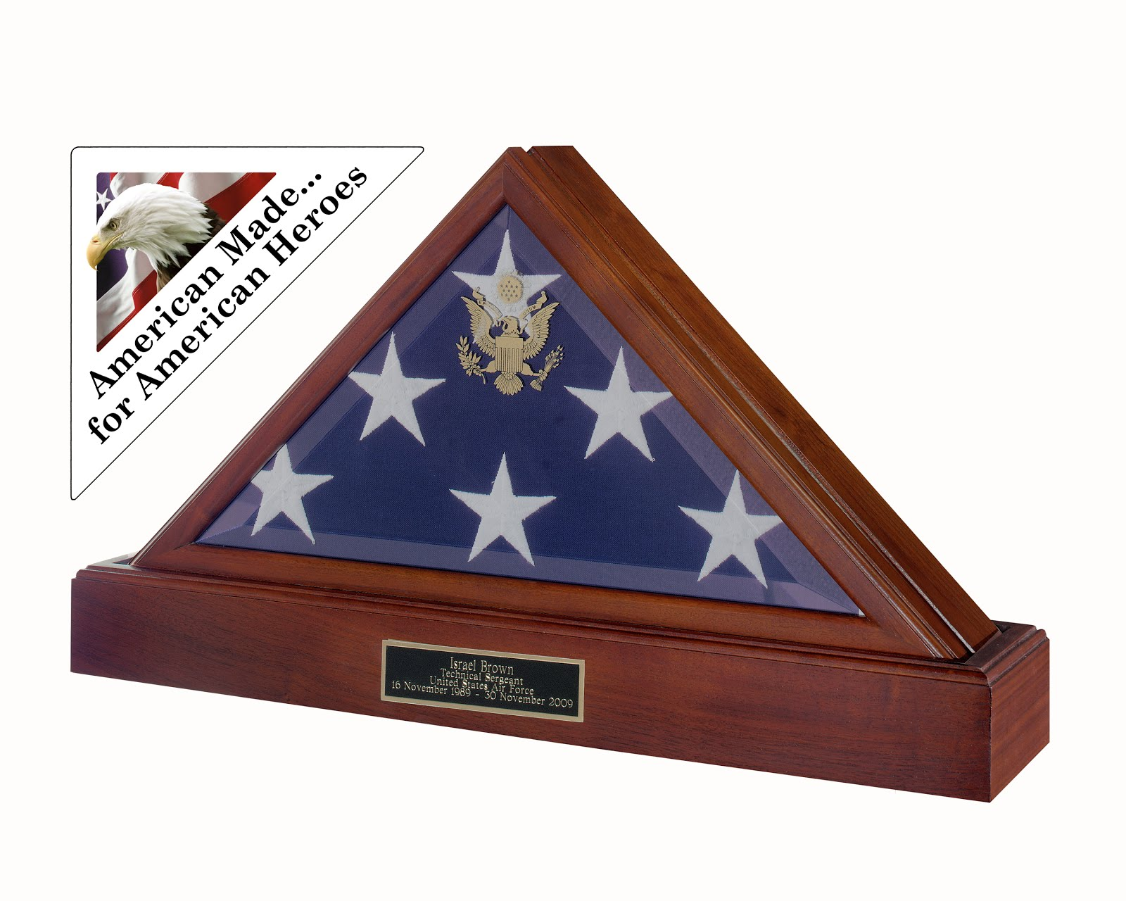 Military Flag Display Cases