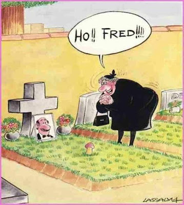 Funny life after death cartoon joke picture