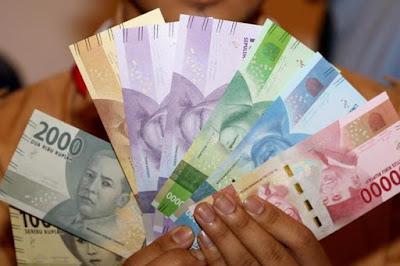 Penukaran uang baru di Bank ramadhan 1440 H / 2019
