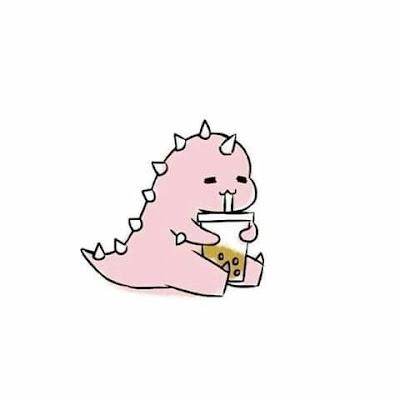 Kumpulan Gambar Dino Merah Pink Hijau Lucu Untuk Foto Profil Yang Viral