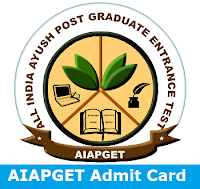 AIAPGET Admit Card