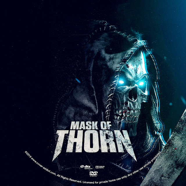 Mask of Thorn DVD Label