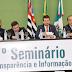 Com grande representatividade Câmara Municipal realizou o 1o Seminário Transparência e Informação