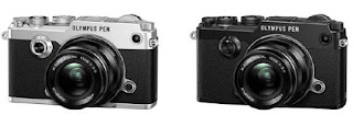 Two colourways of the PEN-F cameras.