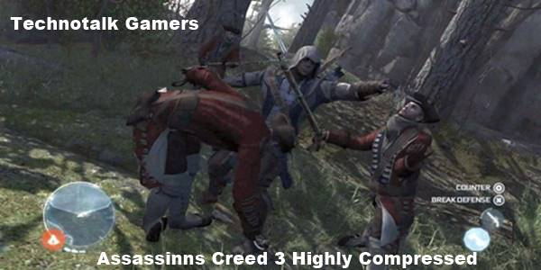 Assassin's Creed 3 Highly Compressed PC