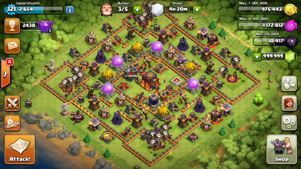 hack game clash of clans android no survey