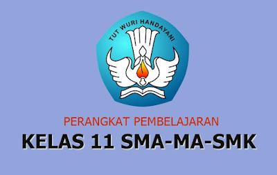 Perangkat Pembelajaran Kelas 11 SMA/MA/SMK Kurikulum 2013 Revisi 2017