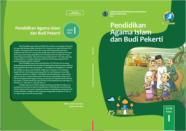Download Gratis Buku Siswa Pendidikan Agama Islam dan Budi Pekerti Kelas 1 SD Kurikulum 2013 Format PDF
