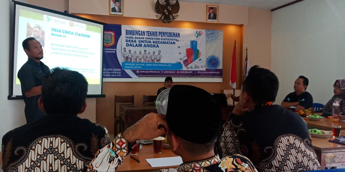 Desa Cinta Statistik Jadi Senjata Pamungkas BPS Wonosobo Di Tahun 2020