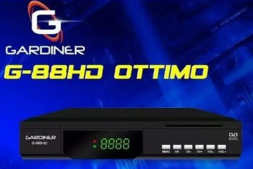 Firmware Receiver Gardiner G88 Ottimo Garmedia