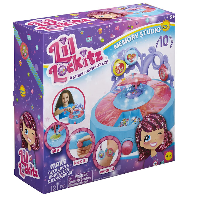 Lil' Lockitz Memory Studio by ALEX Toys