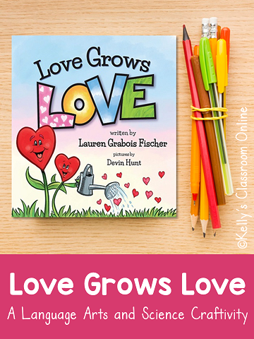 Love Grows Love by Lauren Grabois Fischer sends a message of love and empathy. Read Love Grows Love then make some seed paper to grow some love!