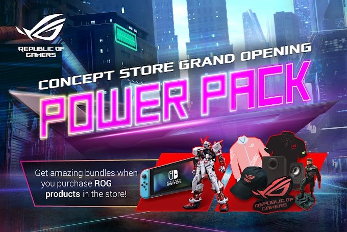 ASUS Republic of Gamers Celebrates Imminent Gilmore Concept Store Opening with Grand Opening Exclusive Gift Bundles